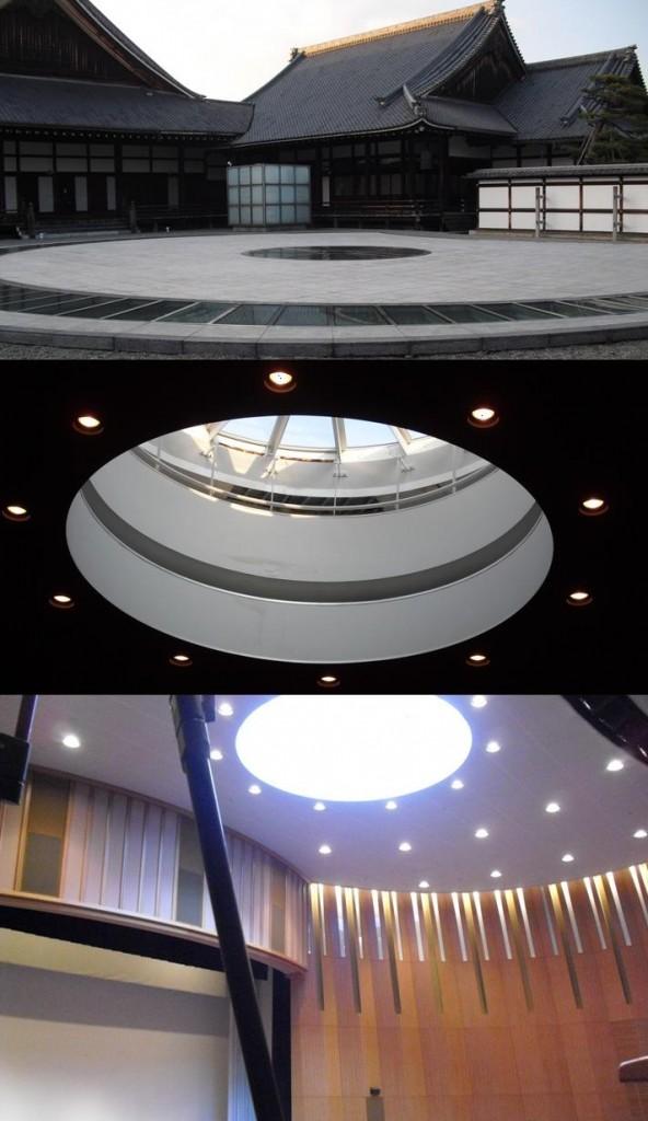 """日本國寶級建築大師""""高松伸""""巧手改造,賦予京都東本願寺的參拜接待所,古典又前衛的全新風貌。"""