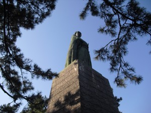 桂浜公園的龍馬像,因為一齣大河劇,成為高知縣人氣No.1的觀光景點。