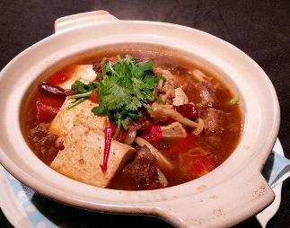 番茄牛肉豆腐煲-2