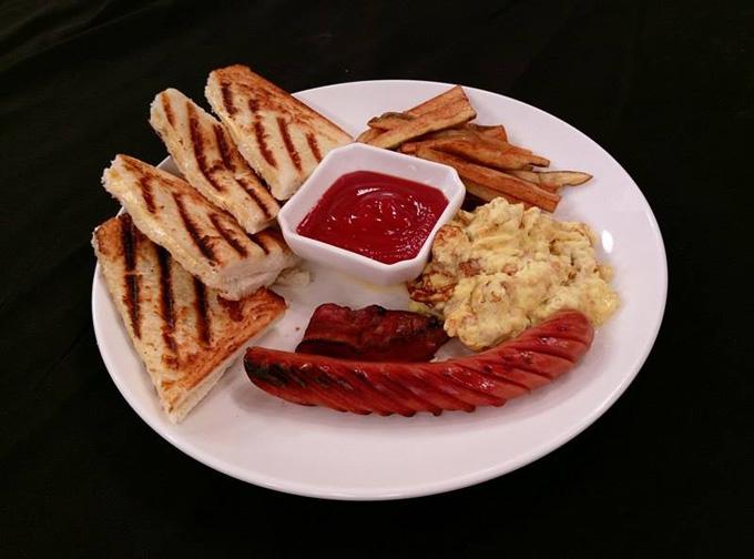 美式炒蛋早午餐2