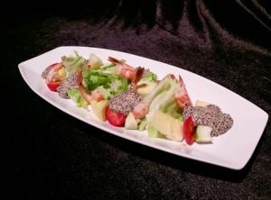 胡麻鮮蝦沙拉