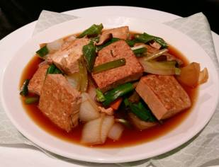 蔥燒豆腐-2