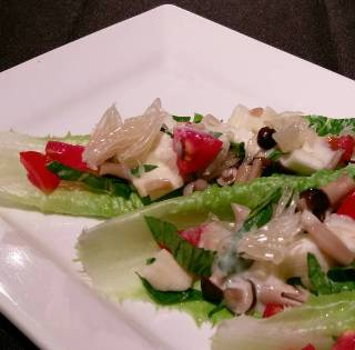 文旦鮮蔬沙拉-2