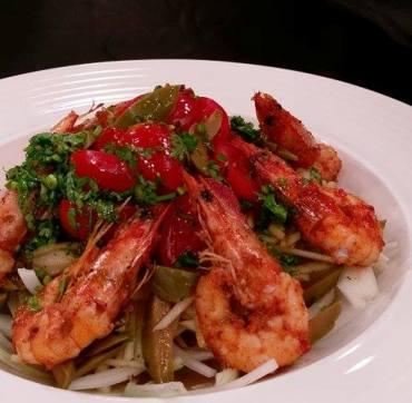 橄欖鮮蝦沙拉-2