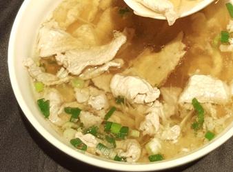 薑絲肉片湯-2