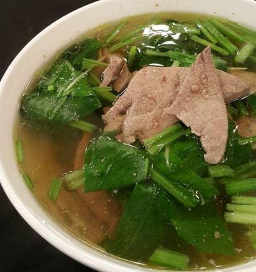 菠菜豬肝湯-2