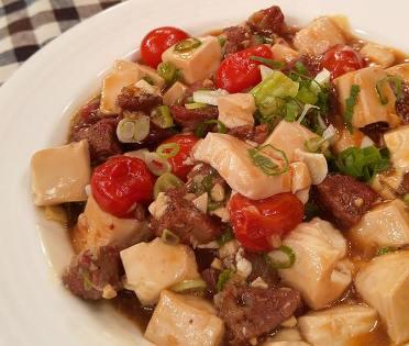 麻辣香腸燒豆腐-2