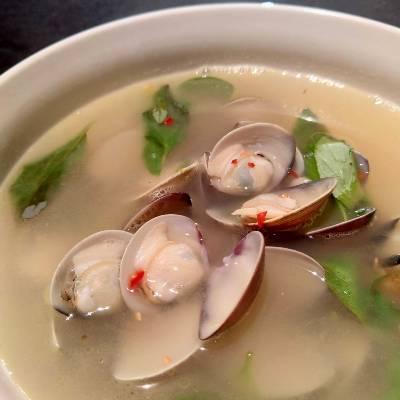 蒜香蛤蜊湯-2