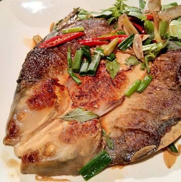 薑燒虱目魚-2