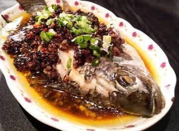 豆豉醬蒸魚-2