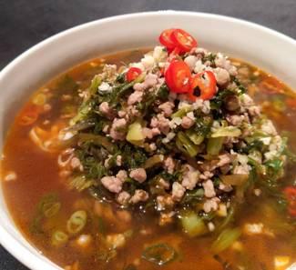 酸菜湯麵-2