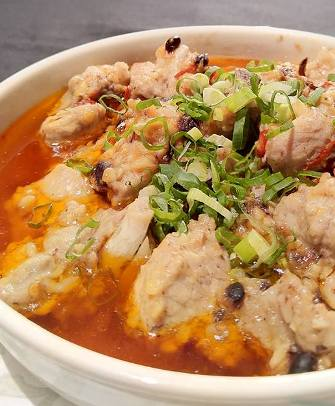 豆豉魚干蒸排骨-2