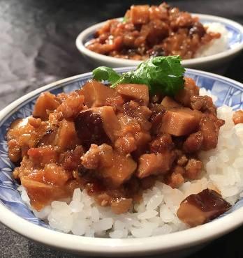 香菇肉燥飯-2