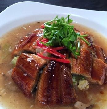 白菜鰻魚羹-2