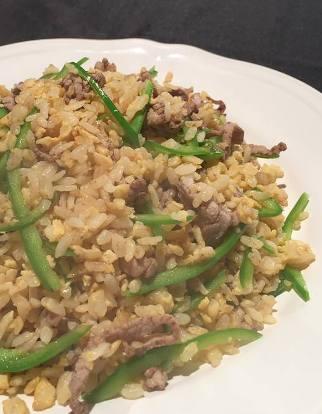 青椒肉絲炒飯-2