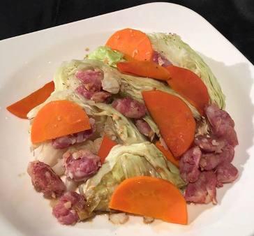 蒸高麗菜-2