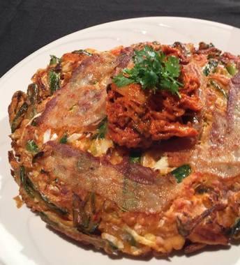 韓式泡菜煎餅-2