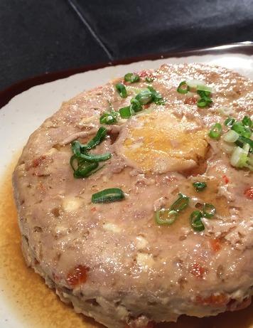 鹹蛋蒸肉餅-2