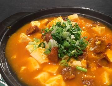 香辣蟹黃豆腐煲-2