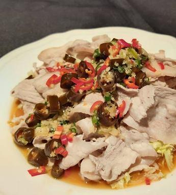 椒香白肉-2