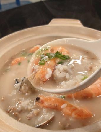 海鮮沙鍋粥-2