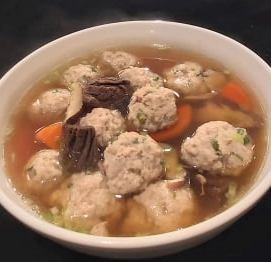 老菜脯丸子湯-2