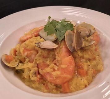 薑黃海鮮頓飯-2