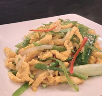 鮮蔬嫩雞絲-2