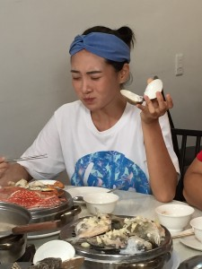 圖 / 小北鼻吃大蛤蜊