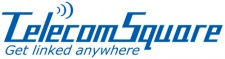 日商TelecomSquare英文LOGO